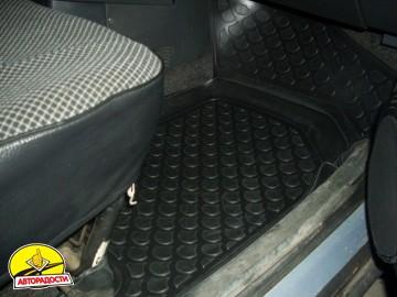 Коврики в салон для Lada (Ваз) 2110-12 полиуретановые, черные (L.Locker)