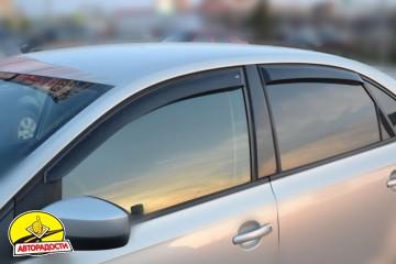 Дефлекторы окон для Volkswagen Polo '10- седан (Cobra)