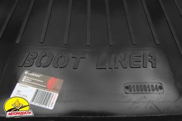 Коврик в багажник для Lada (Ваз) 2114 '97-12 хетчбэк, резино/пластиковый (Lada Locker)