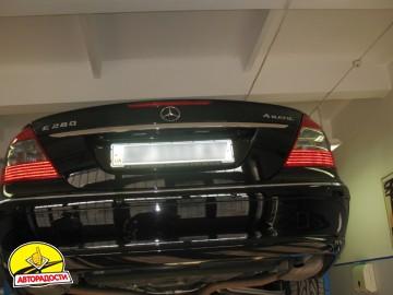 Защита картера двигателя для Mercedes E-Class W211 '05-09, 4Matic 3,0 (Полигон-Авто)