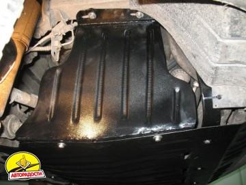 Защита шкивов для Renault Master '05-10, 2,5DI (Полигон-Авто)
