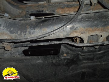 Защита картера двигателя для Smart Fortwo '01-07, V-0,6;0,7 (Полигон-Авто)