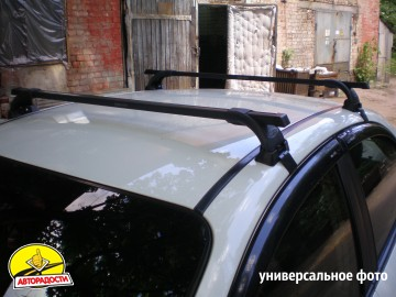 Багажник на крышу для Lada (Ваз) Калина (Ваз) 1119 '04-13, сквозной (Десна-Авто)