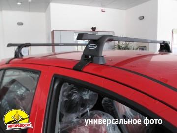 Багажник Mitsubishi Lancer 9 '04-09 седан/универсал, на гладкую крышу (Десна-Авто) квадратный