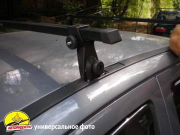 desna_shtat_2 - Багажник в штатные места для Opel Vectra B '96-02 седан/хетчбэк, сквозной (Десна-Авто)