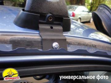 Багажник в штатные места для Renault Kangoo '97-03, сквозной (Десна-Авто)