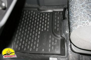 Коврики в салон для ЗАЗ Forza '11- полиуретановые (Novline)