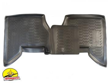 Коврики в салон для Nissan Pathfinder '05-14 полиуретановые, черные (Novline) EXP.999RMR51MC