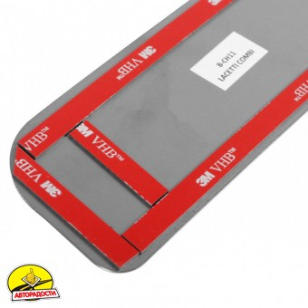 Накладка на бампер для Chevrolet Lacetti '03-12 Универсал (Premium)