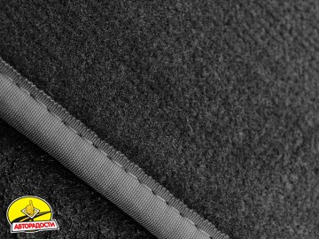Коврики в салон для Citroen C3 '10- Picasso текстильные, серые (Люкс)