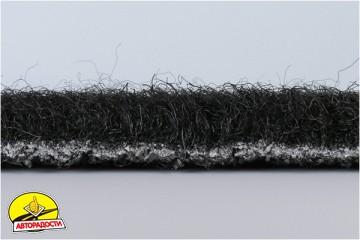 Коврики в салон для Honda Civic 5D '06-12 текстильные, черные (Люкс)