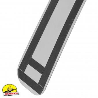 Накладка на бампер для Skoda Octavia A5 '05-08 Лифтбек (Premium)