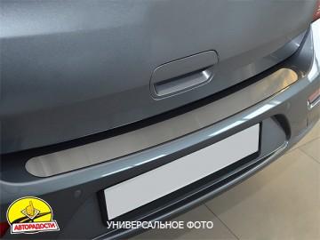 Накладка на бампер для Skoda Octavia A5 '09-13 Универсал (Premium)