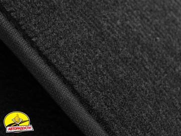 Коврики в салон для Suzuki Jimny '98- текстильные, черные (Люкс)