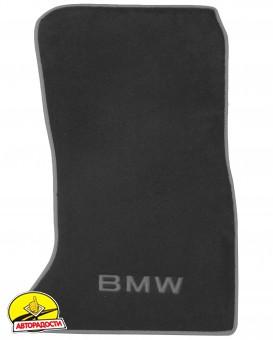 Коврики в салон для BMW 5 F10/11 '10-13 текстильные, серые (Премиум)