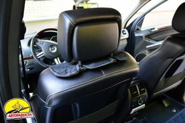 Накидки на сидения  АVторитет Стандарт, черные (комплект)