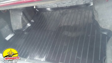 Коврик в багажник для Lada (Ваз) 21099 '90-11, резино/пластиковый (Lada Locker)