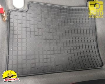 Коврики в салон для Chevrolet Lacetti '03-12 SDN/HB, резиновые (PolyteP)