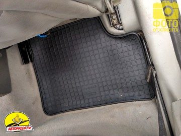 Коврики в салон для Opel Astra G '98-10, резиновые (PolyteP)