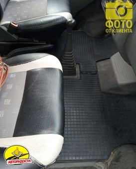 Коврики в салон для Volkswagen Transporter T4 '90-03, резиновые (PolyteP)