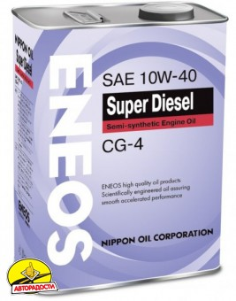 Eneos Turbo Diesel API CG-4 10W40 (4л)
