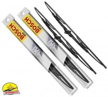 Щетки стеклоочистителя каркасные Bosch Eco 500 и 475 мм. (набор)