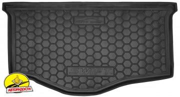 Коврик в багажник для Suzuki Swift '10-17, резиновый (AVTO-Gumm)