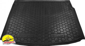 Коврик в багажник для Renault Megane 3 '08-16 универсал, резиновый (AVTO-Gumm)