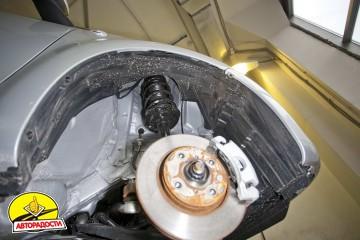 Подкрылок задний левый для Citroen C1 '05-14 (Novline)