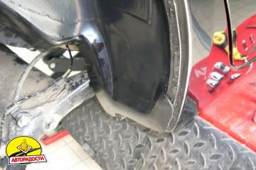 Подкрылок передний правый для Geely MK Sedan '06-14 (Novline)