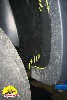 Подкрылок задний левый для Renault Sandero Stepway '10-12 (Novline)