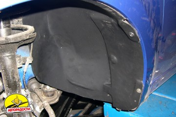 Подкрылок передний левый для Chevrolet Aveo (T250) '04-06, седан, (Novline)