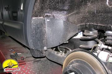 Подкрылок задний левый для Nissan Qashqai+2 '08-14 (Novline / Element)