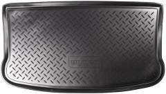 Коврик в багажник для Mitsubishi Colt '03-10, полиуретановый (NorPlast) черный