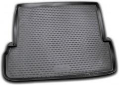 Коврик в багажник для Toyota LC Prado 150 '10- (7 мест, длинный), полиуретановый (Novline / Element) черный