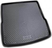 Коврик в багажник для Audi A6 '05-10 универсал, полиуретановый (Novline / Element) черный