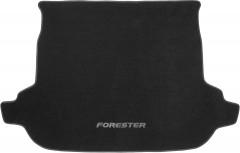 Коврик в багажник для Subaru Forester '13-18, текстильный черный