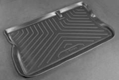 Коврик в багажник для Opel Corsa C '00-06, резино/пластиковый (Norplast)