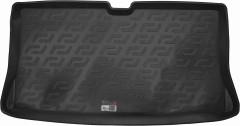 Коврик в багажник для Nissan Micra '03-10, резиновый (Lada Locker)