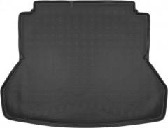 Коврик в багажник для Hyundai Elantra AD '16-, резино/пластиковый (NorPlast) черный