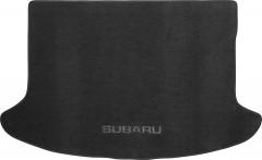 Коврик в багажник для Subaru Impreza '07-12 хетчбэк, текстильный черный