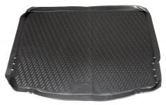Коврик в багажник для Ford Focus 3 (III) '11- хетчбэк, полиуретановый (Novline / Element) черный EXP.CARFRD00006