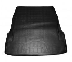 Коврик в багажник для Mercedes S-Class W222 '13-, без регулировки сид., полиуретановый (NorPlast)