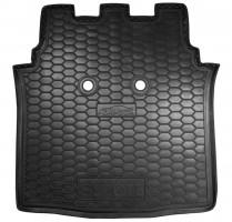 Коврик в багажник для Mercedes Smart Forfour '04-06, резиновый (AVTO-Gumm)