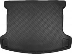 Коврик в багажник для Nissan Qashqai +2 '08-14, (длинный), полиуретановый (NorPlast) черный