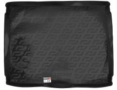 Коврик в багажник для Opel Zafira C Tourer '12-, 5/7 мест, резино/пластиковый (Lada Locker)