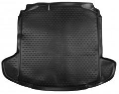 Коврик в багажник для Skoda Rapid '13-, полиуретановый (Novline / Element) черный
