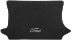 Коврик в багажник для Ford Fiesta '02-09, текстильный черный
