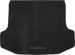 Коврик в багажник для Subaru Legacy '04-10, текстильный черный