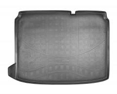 Коврик в багажник для Citroen DS4 '11- хетчбэк, полиуретановый (NorPlast) черный